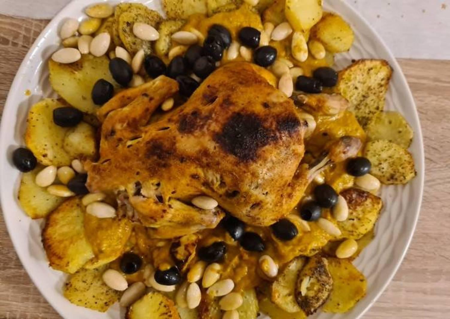 Marokkanisches Hähnchen