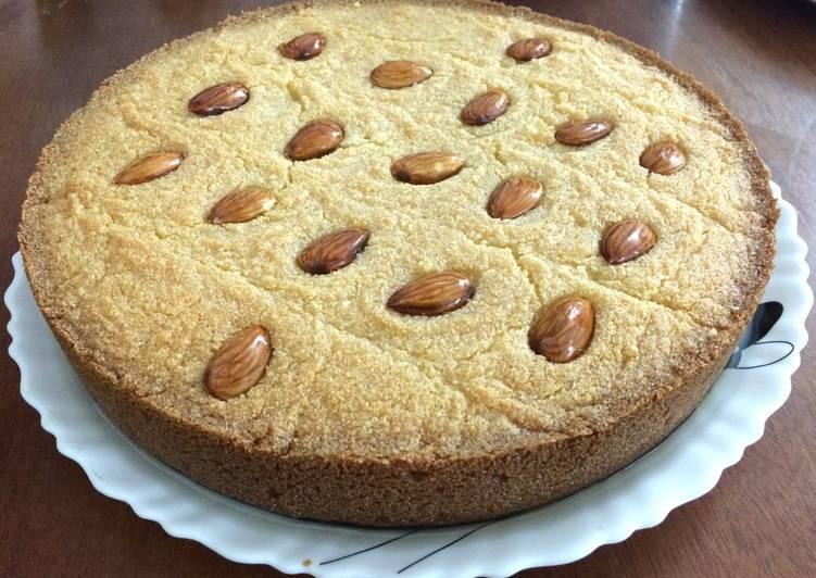 Basboosa - Rava Cake