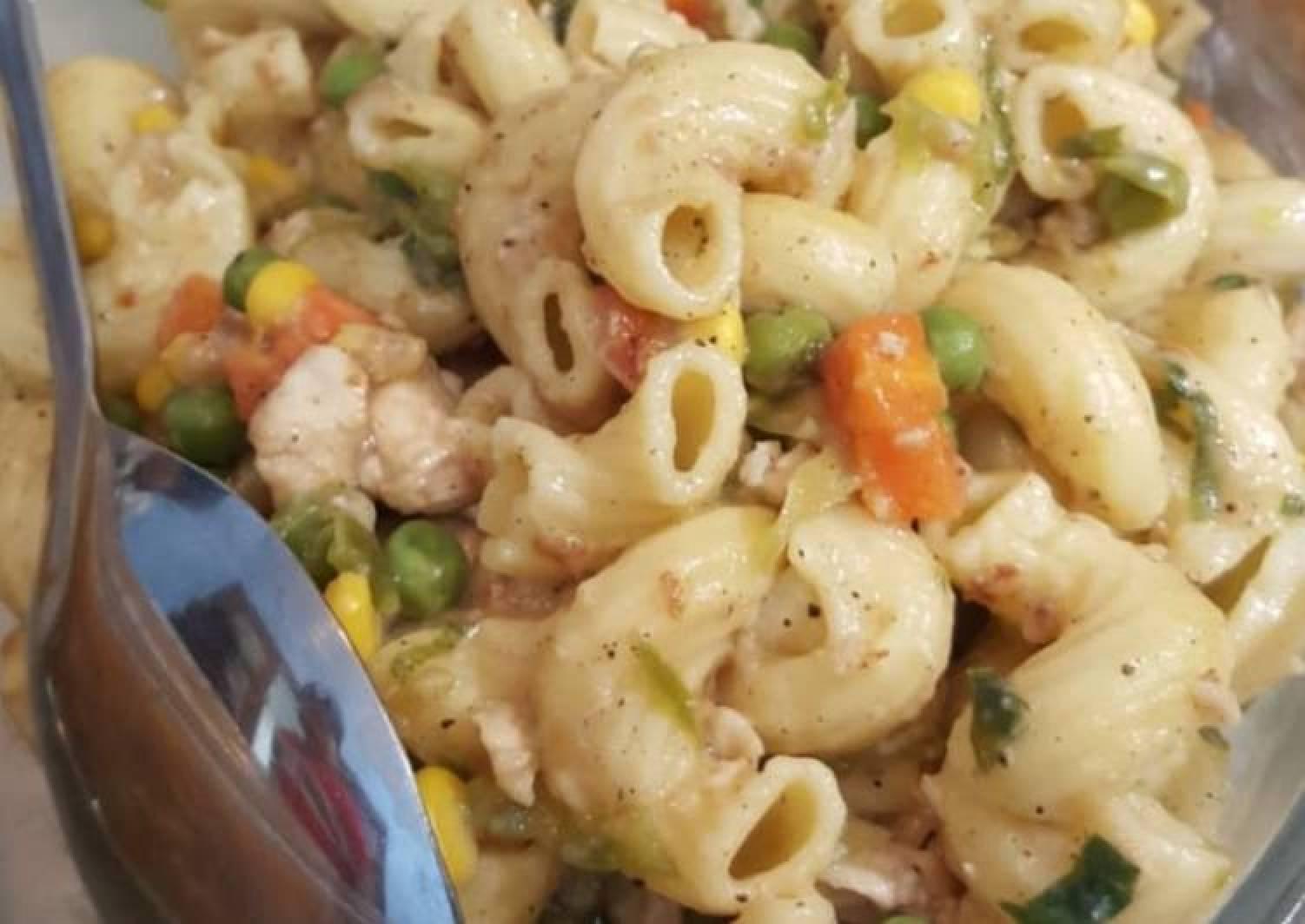 Chicken vegetable pasta