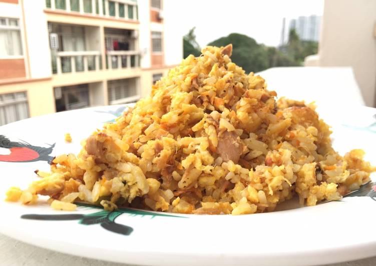 Spicy Tuna Fried Rice