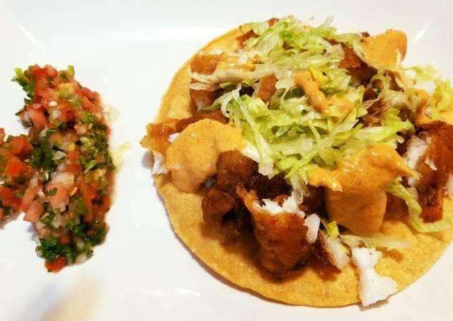 Mexican Chicken Tostada