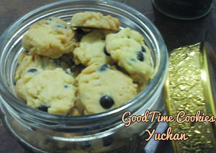 GoodTime cookies no mixer