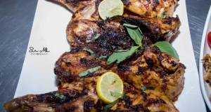 Butterfly grilled chicken