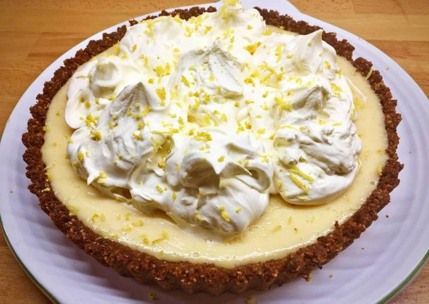 Easy Lemon & Lime Pie