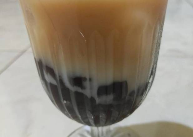 Ice Boba milk Tea🍹