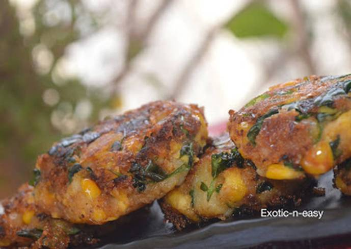 Corn Methi Kebab