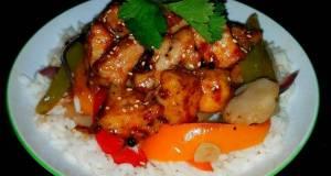 Mikes Spicy Korean Chicken Over Jasmine Rice