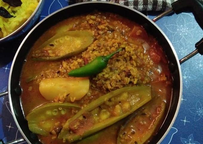 How to Prepare Favorite Parwal and moong dal ki curry