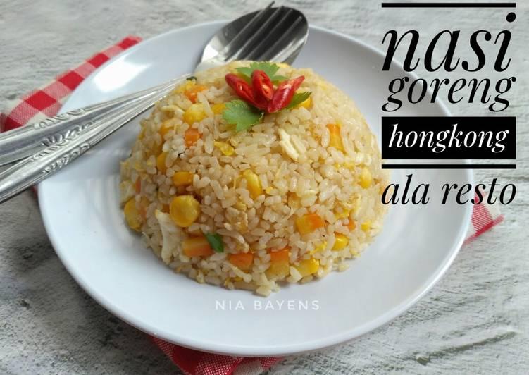 Nasi goreng hongkong ala resto