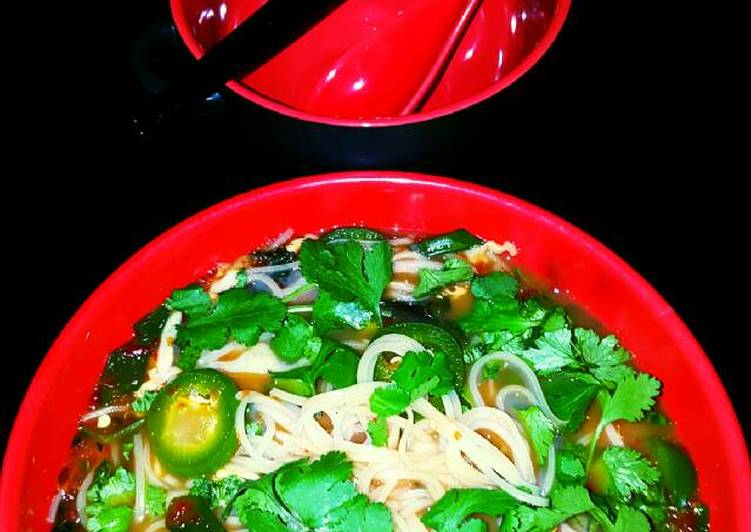 Mike's Spicy Thai Breakfast Noodles, Choosing Fast Food That's Very good For You