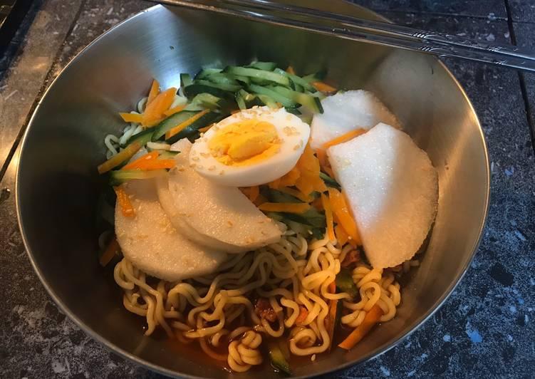 Cold Instant Noodles