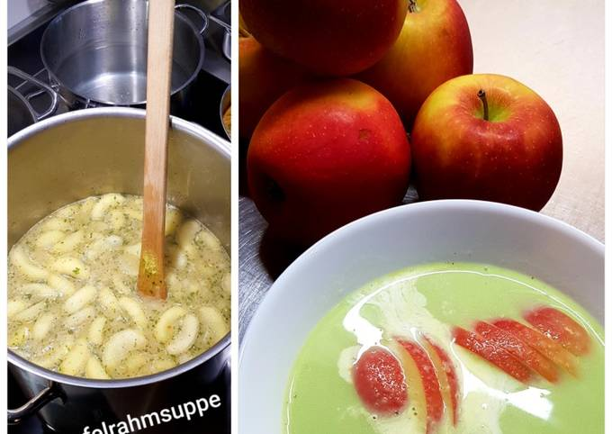 Rezept Um Roland Tretti Apfel-Lauch-Pastinaken-Suppe zuzubereiten