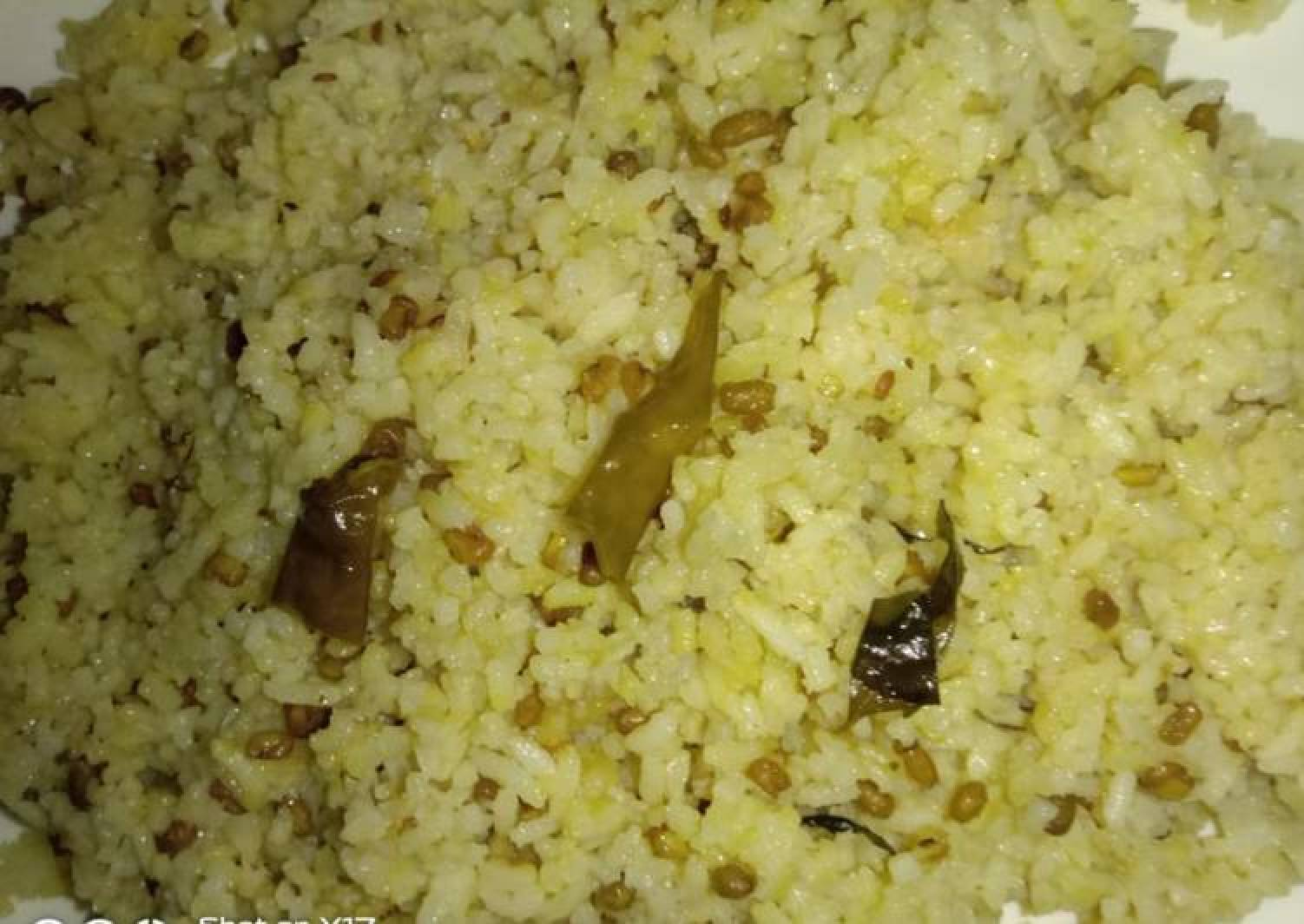 Fenugreek seeds khichdi