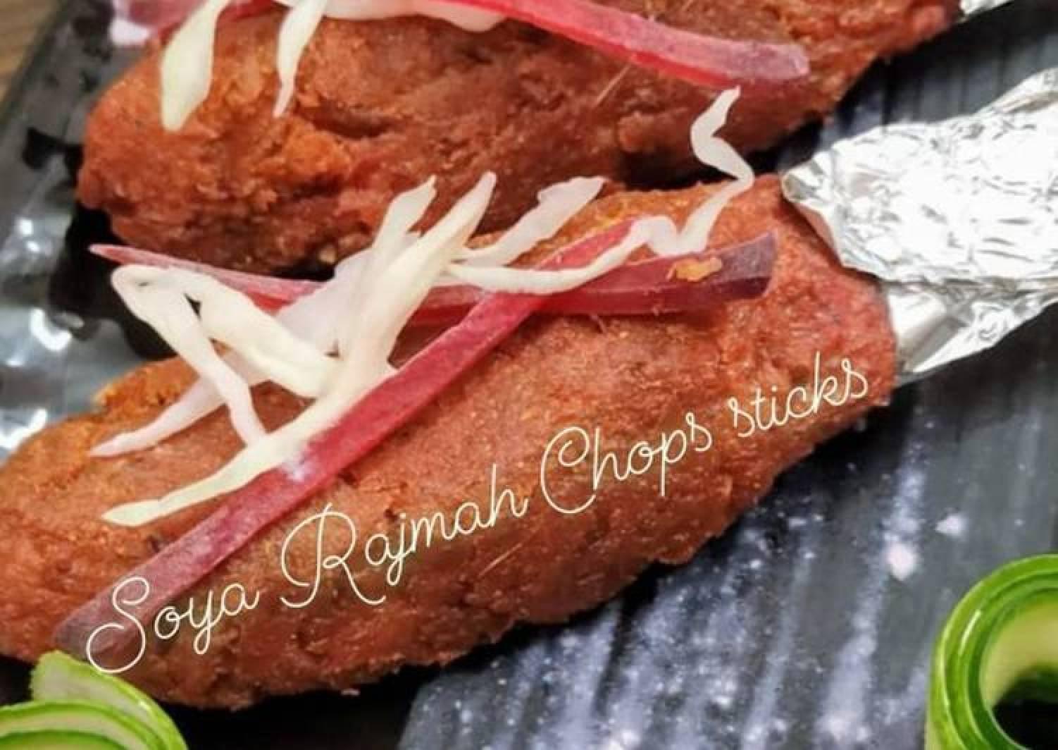 Soya Rajmah Chop Sticks