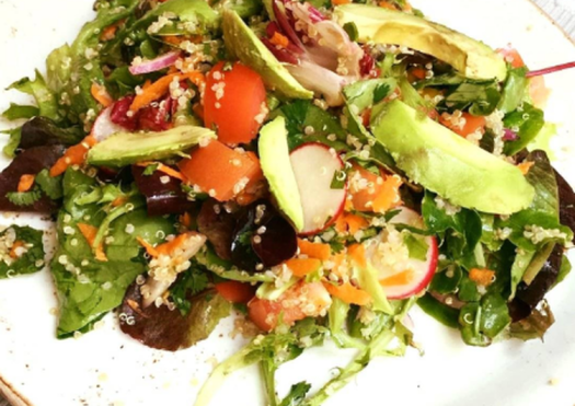 Quinoa healthy salad