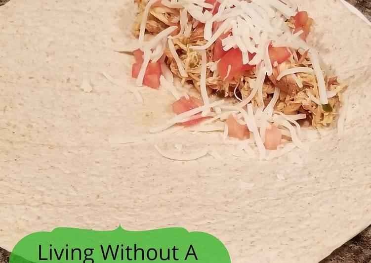 Steps to Make Homemade Citrus Chicken Burrito