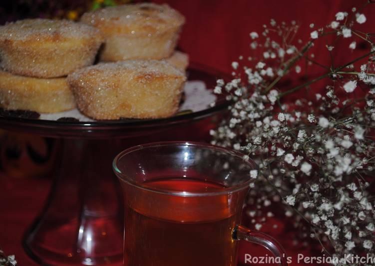 Butter-raisins donuts muffins