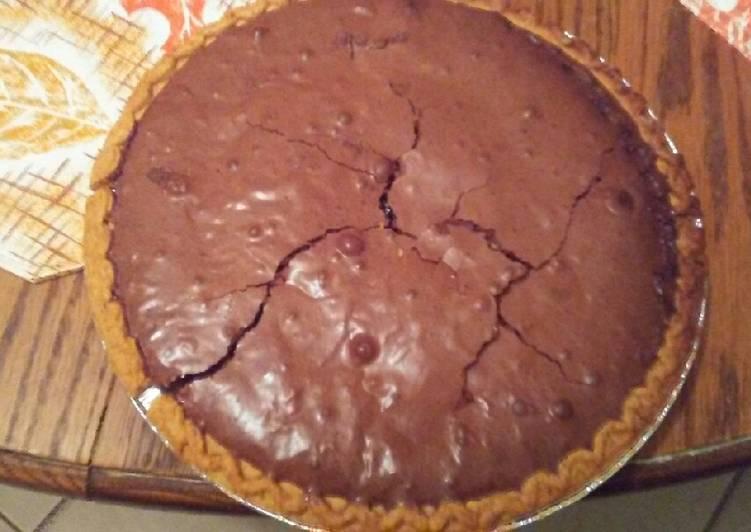 Almond Joy Brownie Pie