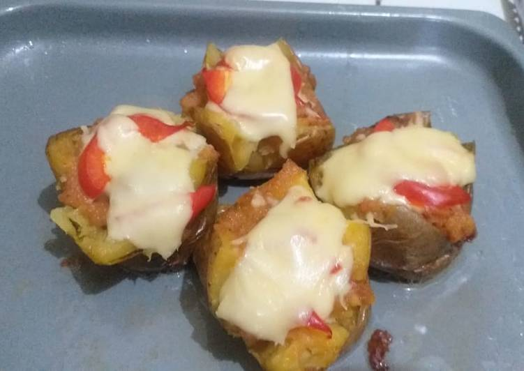 Potato cheese beef panggang