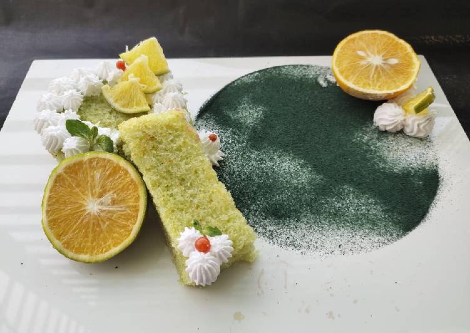 Sweet lime cake