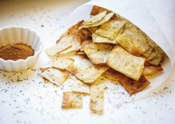 Чипсы из лаваша - пошаговый рецепт с фото. Автор рецепта ...
