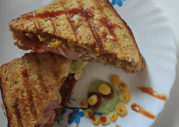 Recipe of Quick Grilled sandwiches