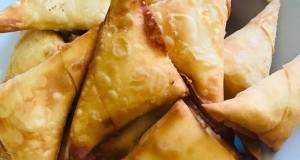 Cheese with Jalapeo  Samoosa