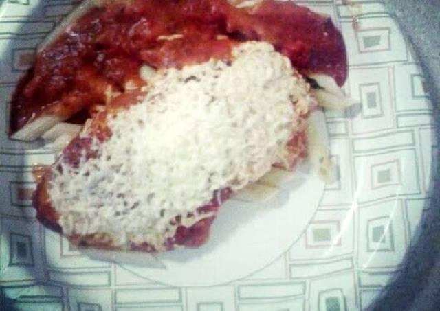 Easy Chicken Parmesan w/ Penne