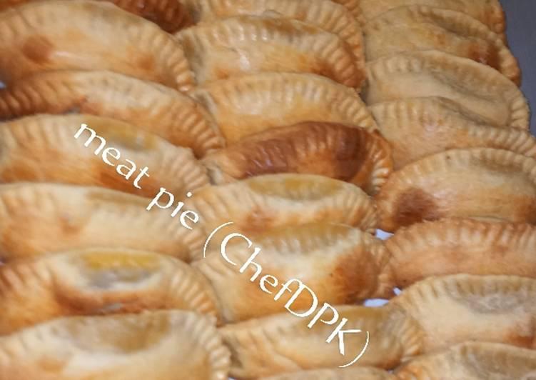Crunchy meat pie