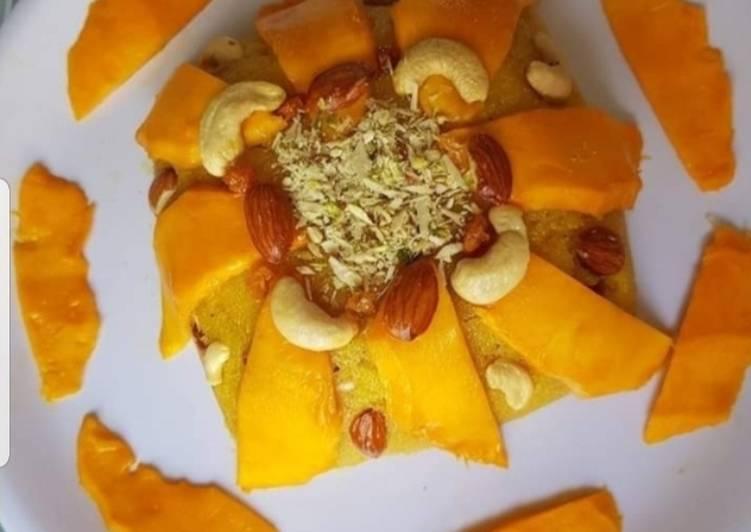 Mango Dry fruits Halwa