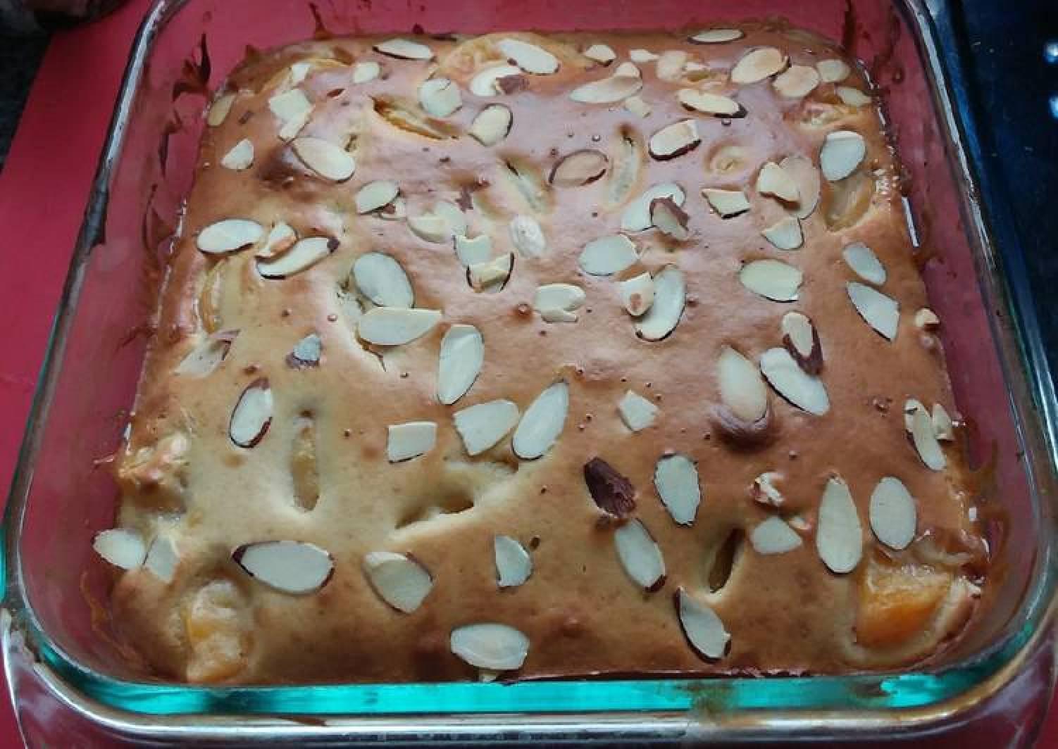 Teresa's Apple,Peach&Almonds Sponge Pudding 😍🎂🍾🍷🍽🍰🍸☕