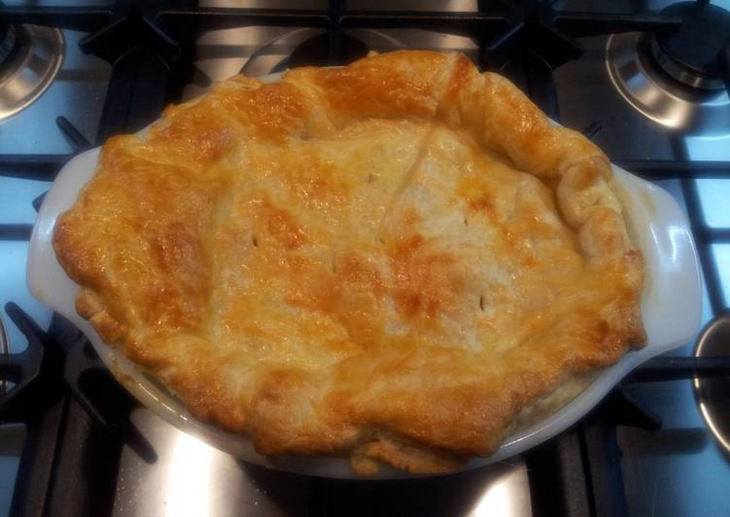 Curry Beef Pie