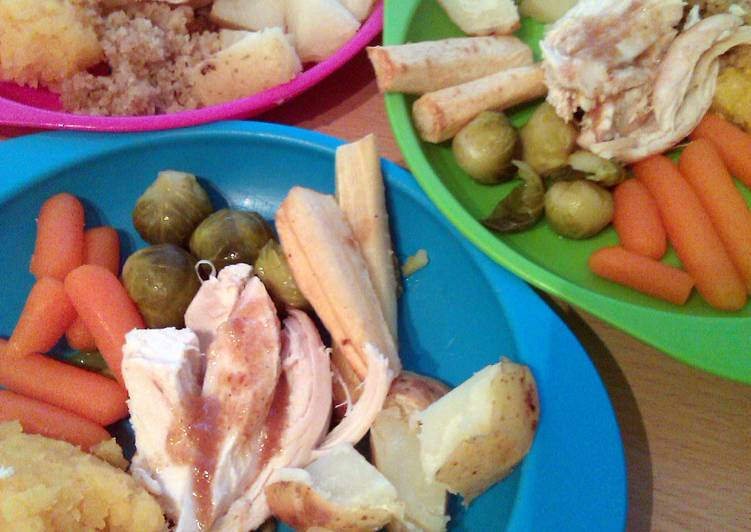 Vickys Full Roast Chicken Dinner with Sides and Leftover Ideas Gluten Dairy Egg  Soy-free