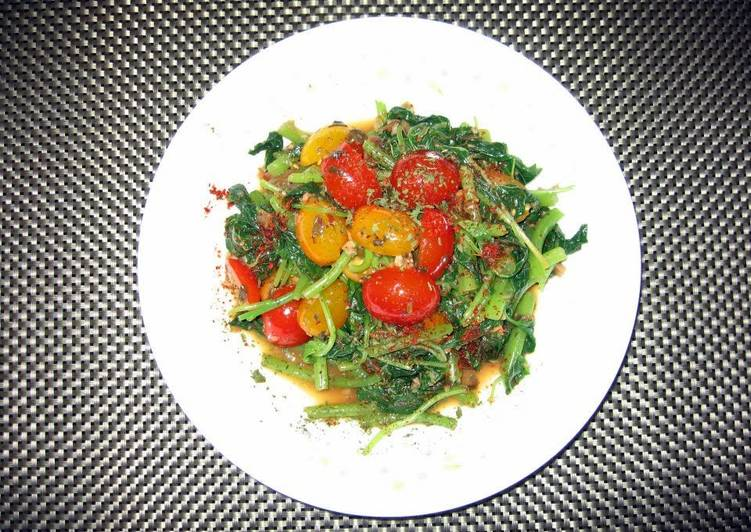 LG SPINACH IN BUTTERY ORANGE FLAVOUR