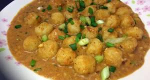 Meatball In Hazelnut Sauce