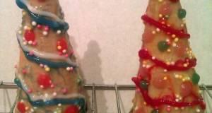 Vickys Rice Krispie Christmas Trees