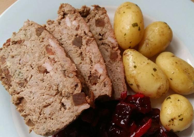 Vickys Pork & Pickle Meatloaf, GF DF EF SF NF