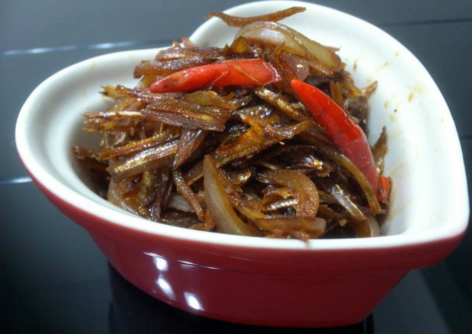 Steamed Ikan Bilis /Dried Anchovies