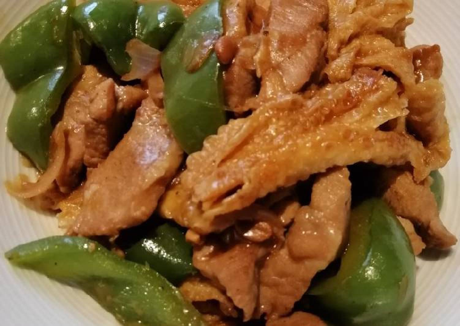 Stir Fry Pork Meat
