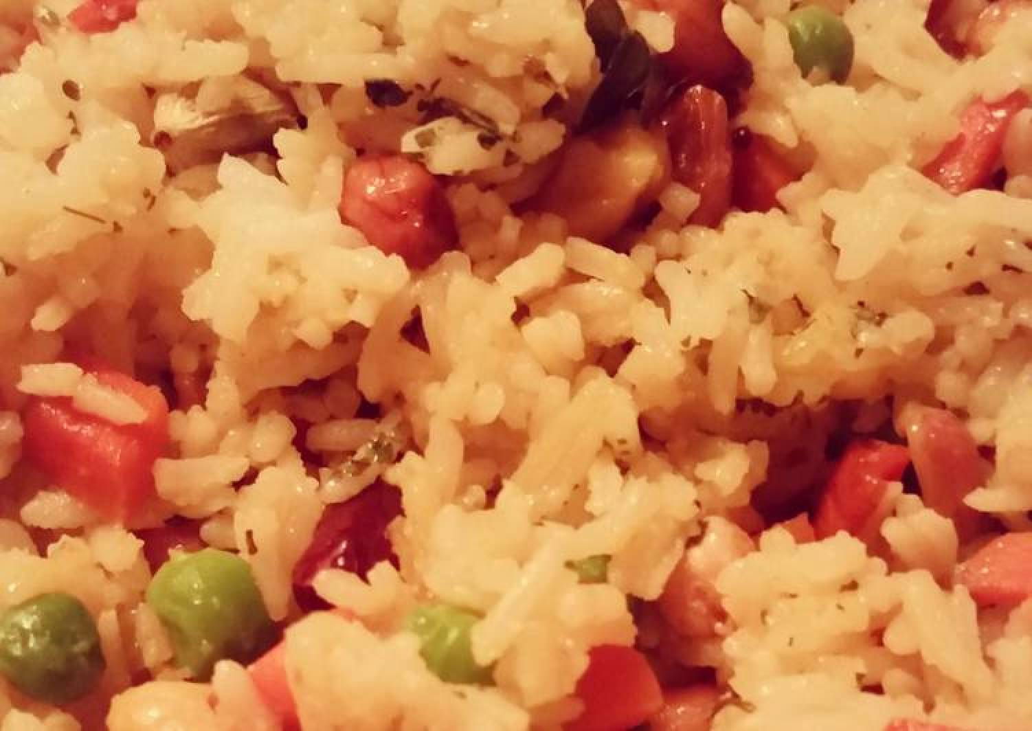 Indian-Style Vegetarian Fried Rice