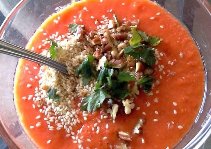 No Cook Tomato Soup