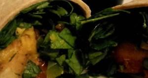 Chicken Fajita Salad Wrap