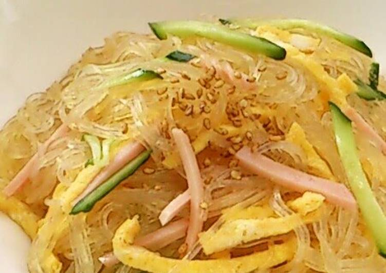 Sweet and Tart Chinese Cellophane Noodle Salad