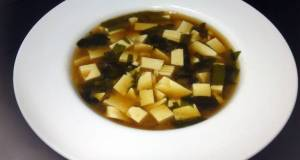 Tofu And Wakame In Miso Soup