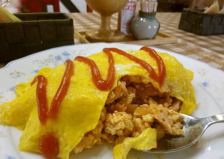 Low-Carb Diet Omurice
