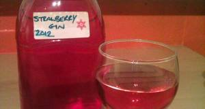 Vickys Strawberry Gin Christmas Gift Idea
