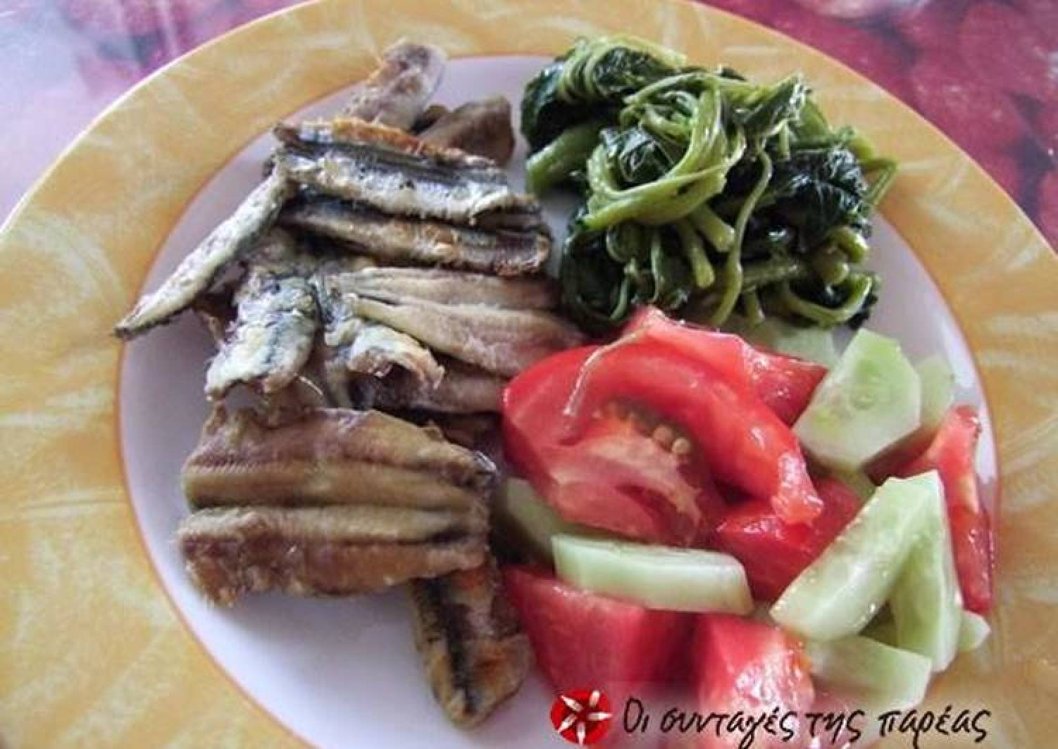 Anchovies without any regrets