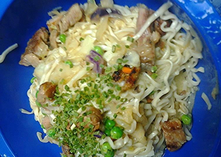 Korean flat noodles