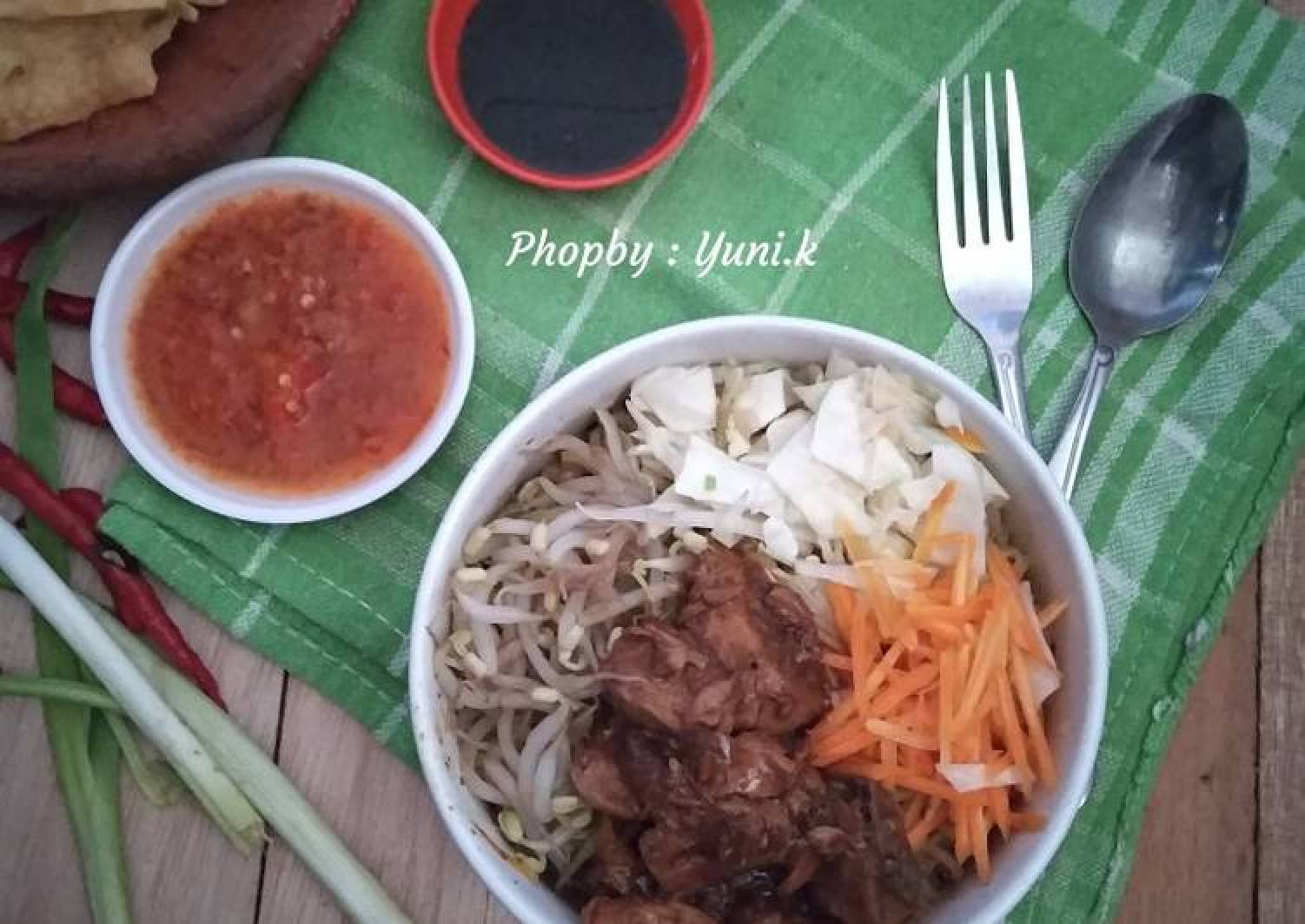 Resep Mie Ayam Simpel
