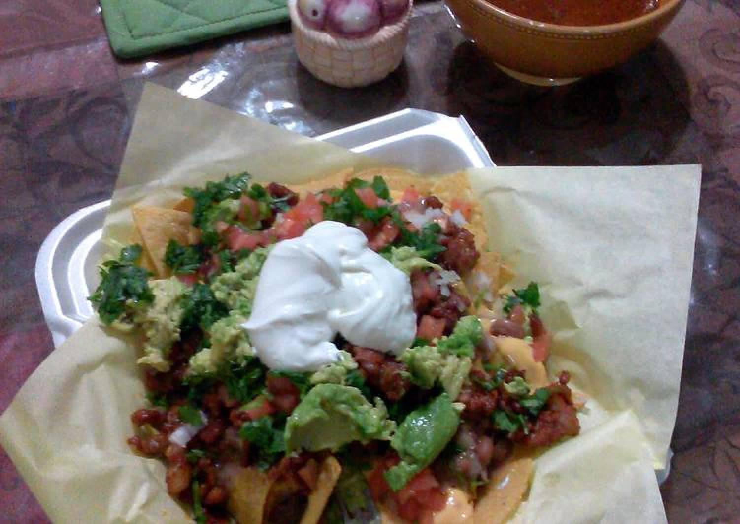 carne al pastor for tacos, burritos and nachos….